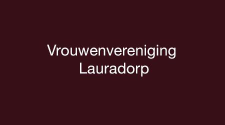 Vrouwenvereniging Lauradorp