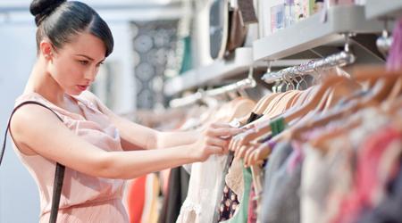 5% korting op alle dameskleding, lingerie en accessoires