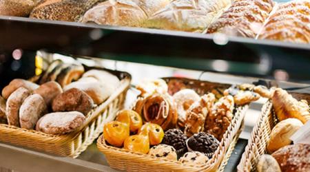 10% korting op brood & banket